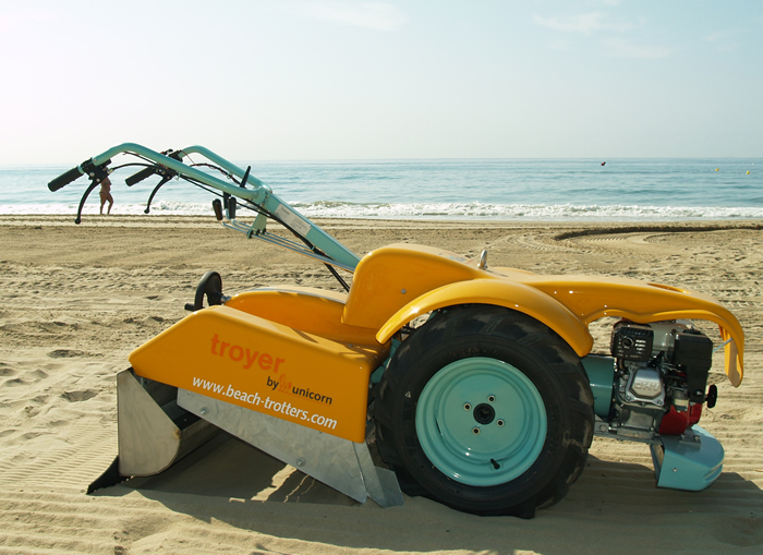 Maquina Limpia Playas - Beach Cleaner
